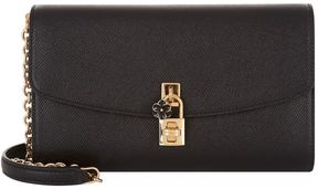 Dolce & Gabbana Mini Padlock Shoulder Bag - BLACK - STYLE