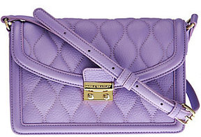 Vera Bradley Quilted Leather Crossbody -Tess - ONE COLOR - STYLE