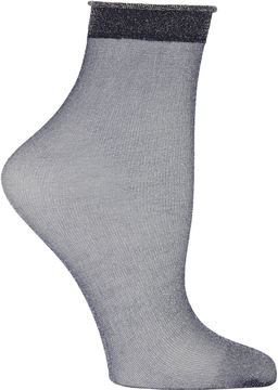 Emilio Cavallini Sheer Lurex Socks
