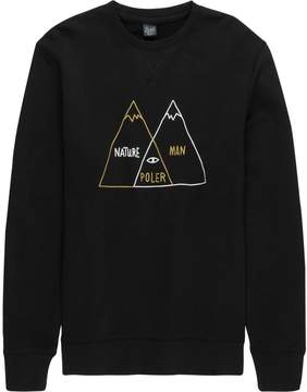 Poler Venn Diagram Crew Sweatshirt