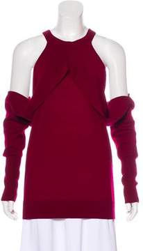 Dion Lee Cold-Shoulder Wool Sweater w/ Tags