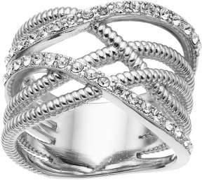 Brilliance+ Brilliance Weave Ring with Swarovski Crystals
