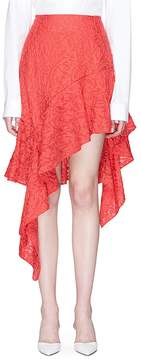 C/Meo Collective 'More to Give' asymmetric ruffle skirt