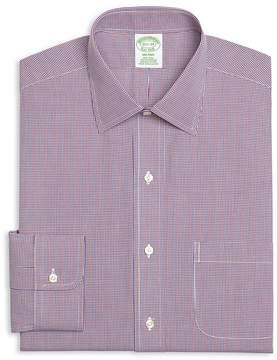Brooks Brothers Micro Gingham Slim Fit Dress Shirt