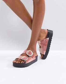 Sixty Seven SixtySeven Flat Slide Buckle Sandal