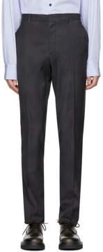 Lanvin Grey Skinny Trousers