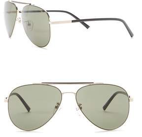 Kenneth Cole Reaction Metal 58mm Sunglasses