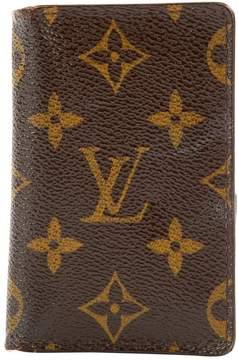 Louis Vuitton Cloth card wallet