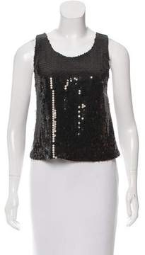 CNC Costume National Sequined Crossover Top w/ Tags