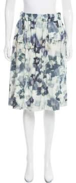 Creatures of Comfort Silk Shantung Skirt