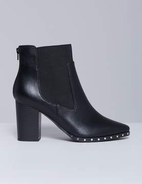 Lane Bryant Studded Ankle Boot with Block Heel