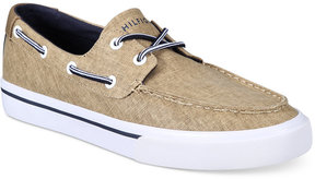 Tommy Hilfiger Men's Pharis Canvas Boat Shoes Men's Shoes