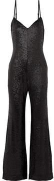 Rachel Zoe Wren Sequined Tulle Jumpsuit - Black