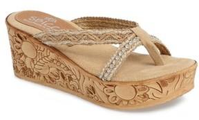 Sbicca Women's Witness Platform Wedge Sandal