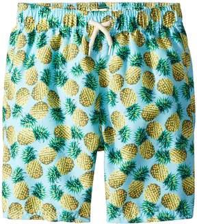 Appaman Kids Allover Print Mid Length Swim Trunks Boy's Swimwear