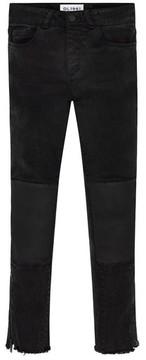 DL1961 Girl's Chloe Raw Hem Skinny Jeans