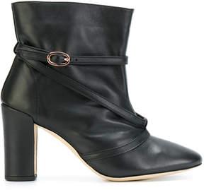 Repetto buckle-strap anke boots