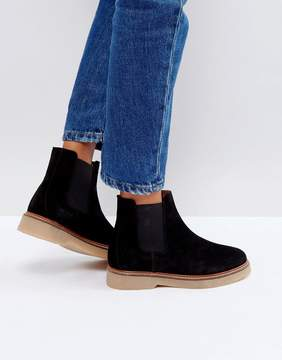 Pieces Suede Boots