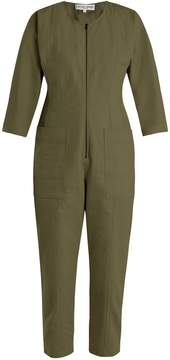Apiece Apart Flame Thrower straight-leg denim jumpsuit