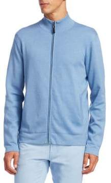 Saks Fifth Avenue COLLECTION Full Zip Sweater
