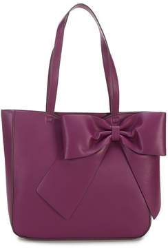 Karl Lagerfeld Paris Fara Bow Faux-Leather Tote
