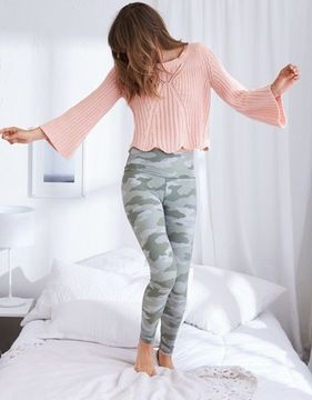 aerie Scallop Hem Sweater