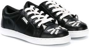 Karl Lagerfeld appliqué sneakers