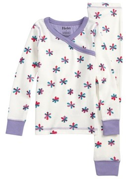 Hatley Toddler Girl's Snowflake Print Fitted Two-Piece Pajama Set