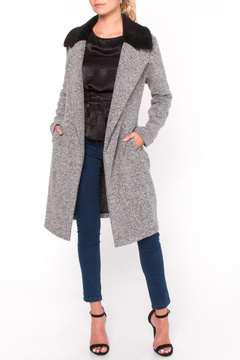 Everly Fur Collar Coat