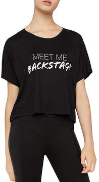 BCBGeneration Backstage Boxy Graphic Tee