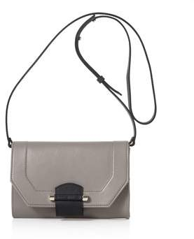 Joanna Maxham Enigma Mini Clutch/crossbody Grey.