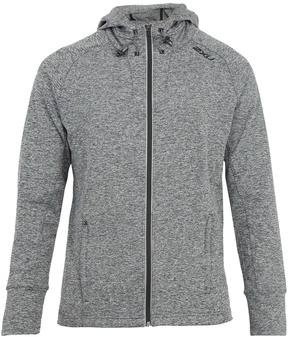 2XU Formsoft hooded zip-through jersey sweatshirt
