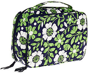 Vera Bradley Large Signature Blush and Brush Makeup Case