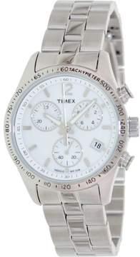 Timex Women's Expedition T2P059 White Stainless-Steel Analog Quartz Fashion Watch
