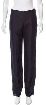 Calvin Klein Collection Mid-Rise Straight-Leg Pants w/ Tags