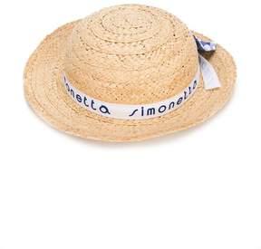 Simonetta beach straw hat