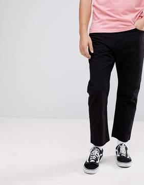 Carhartt WIP Toledo Pant In Regular Straight Fit In Black