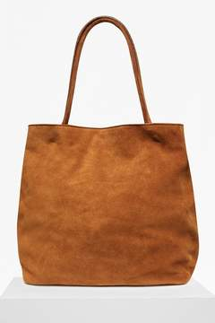 French Connection Soft Suede Lottie Suede Tote Bag