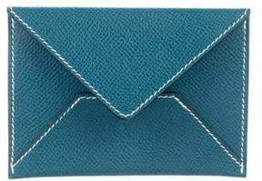 Hermes Epsom Envelope Card Holder