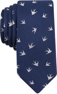 Bar III Men's Aria Bird Conversational Slim Tie, Created for Macy's
