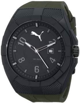 Puma Iconic PU103501007 Green/Black Analog Quartz Men's Watch