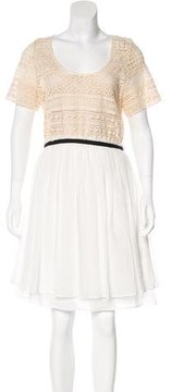 Band Of Outsiders Short Sleeve Knee-Length Dress w/ Tags