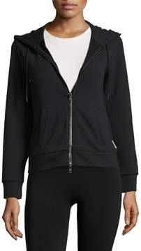 Armani Exchange Women's Solid Hooded Jacket
