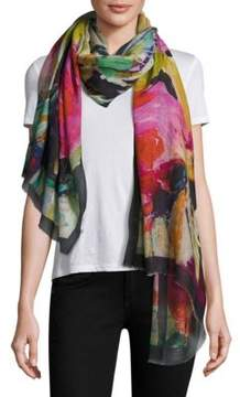 Bindya Abstract-Print Scarf