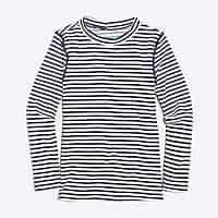 J.Crew Factory Girls' striped rashguard