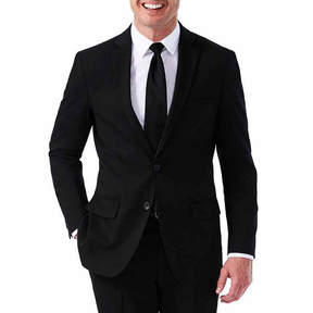 Haggar JM Black Premium Stretch Slim Fit Suit Jacket