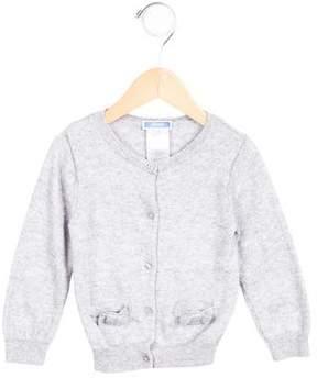 Jacadi Girls' Knit Long Sleeve Cardigan