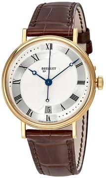 Breguet Classique Silver Dial Automatic Men's Leather Watch