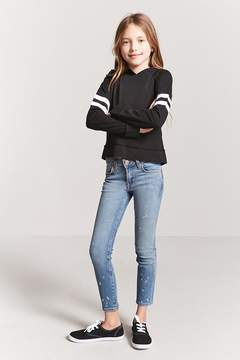 Forever 21 Girls Varsity-Stripe Top (Kids)