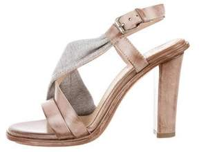 Brunello Cucinelli Monilli Leather Sandals